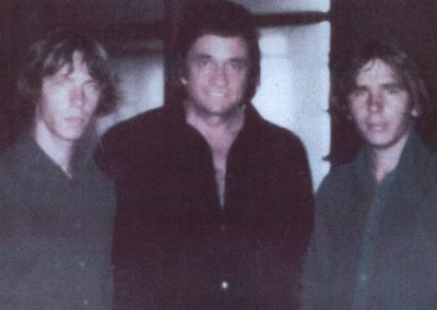 Hammond Bros. with Johnny Cash